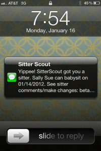 SitterScout Text Sample 200x300 Sitter Scouting