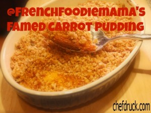 Carrot Pudding 300x225 Extending our Thanksgiving Table to You thanks to Cardstore