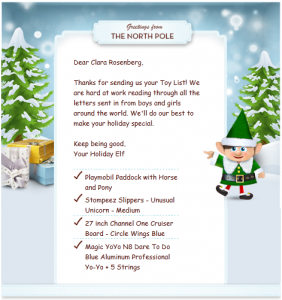 eBay Gift Guide Holiday Letter 282x300 Easy gifting thanks to eBay