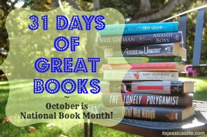 31 days of great books 11 300x199 Splintered   31 Days of Great Books   Book 7