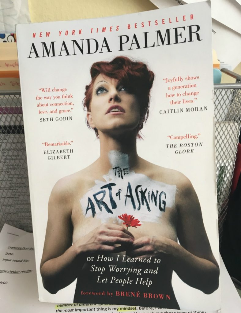 Art of Asking by Amanda Palmer